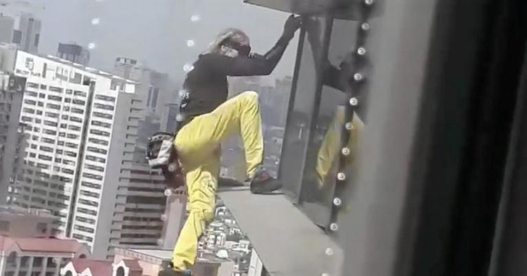 Alain Robert French Spiderman Philippines