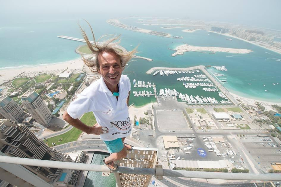 French spiderman francais Alain Robert speech motivation seminar conference business free solo celebrity sport professional